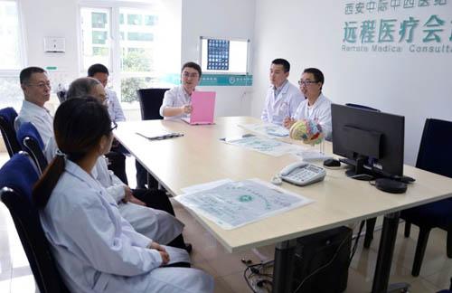 """""""与时竞速 为爱联盟""""脑健康家园主题活动于西安中际中西医结合脑病医院火热进行中"""