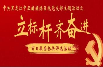 """黑龙江中亚癫痫病医院党支部召开""""百日服务标兵""""总结表彰大会"""
